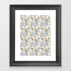 Shapes 003 Framed Art Print