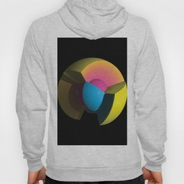 3D Art Sphere 6 - Cutting To The Core Series Hoody