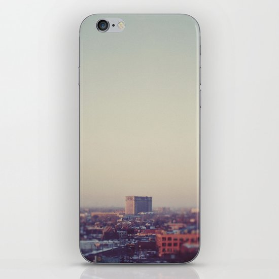 Morning Over Detroit iPhone & iPod Skin