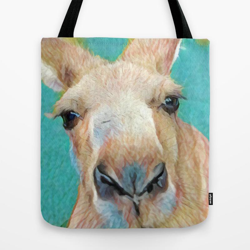 Roo Tote Bag By Jpdesignworks