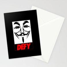 V-Defy Stationery Cards