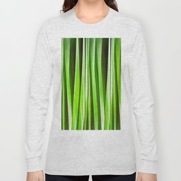 Tropical Green Riverweed Long Sleeve T-shirt