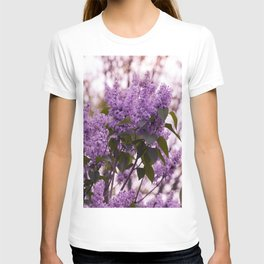 Purple lilacs T-shirt