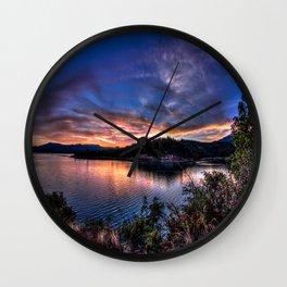 Lost creek Lake OR Wall Clock