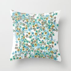 Little Flowers For You Throw Pillow