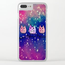 pig-59 Clear iPhone Case