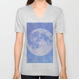 Magick Square Moon Invocation Unisex V-Neck
