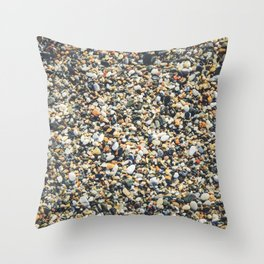 Sea pebble Throw Pillow