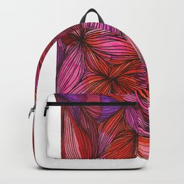 brightly blooming full Backpack