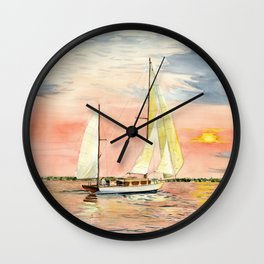 Sea Star Wall Clock