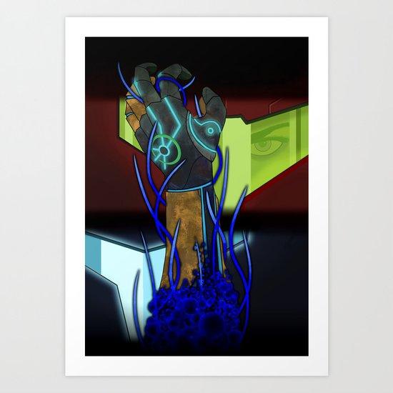 Metroid Prime: Corruption Art Print