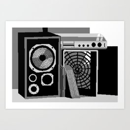Raster of Young Art Print