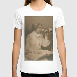 Helen Keller Vintage Photo, 1904 T-shirt