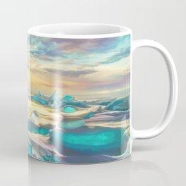Crystal snow desert Coffee Mug