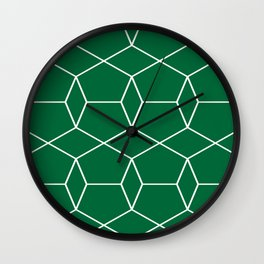 Pentagonal Pattern Wall Clock