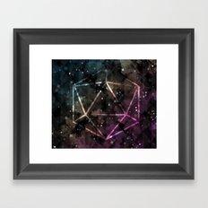 Midnight Constant Framed Art Print