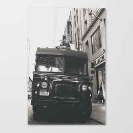 Delivery Canvas Print