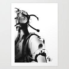 BnW9 Art Print