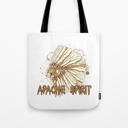 Apache Spirit Tote Bag