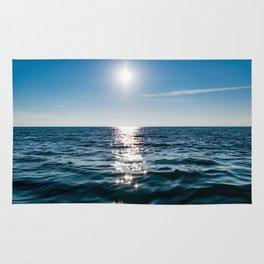 Marble Wave Sunshine Rug