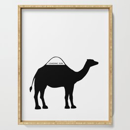 Camel Serving Tray