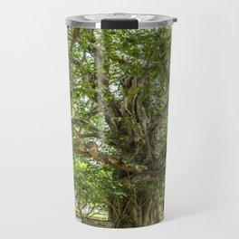 """The """"Magic Tree"""", Killing Fields, Cambodia Travel Mug"""