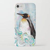 king iPhone & iPod Cases featuring KING by Mat Miller