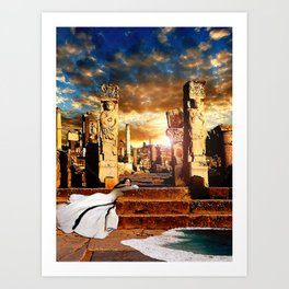 Altar of the Dawn Art Print