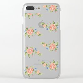 Kitsch never killed anyone Clear iPhone Case