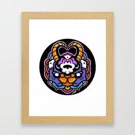 NEON RAM Framed Art Print
