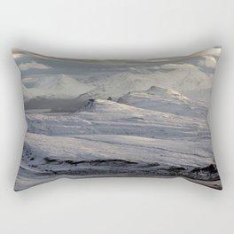 Trotternish Peninsula and Cuillin Mountains Isle of Skye Rectangular Pillow