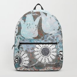 Florals in Neutral Backpack