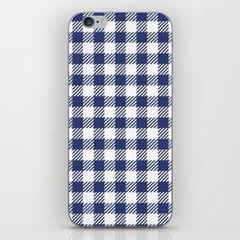 Blue Vichy iPhone Skin