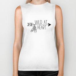 Wild at Heart - Boho Arrow Biker Tank