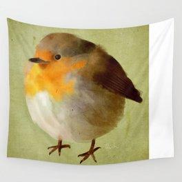 Chubby Bird Wall Tapestry