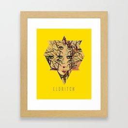 Eldritch Treeface Framed Art Print