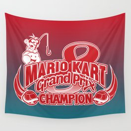 Mario Kart 8 Champion Wall Tapestry
