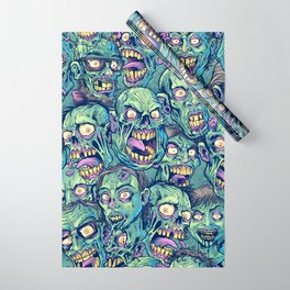 Zombie Repeatable Pattern Wrapping Paper