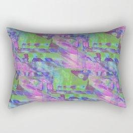 Computer Glitch Rectangular Pillow