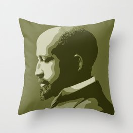 W.E.B. DuBois Throw Pillow