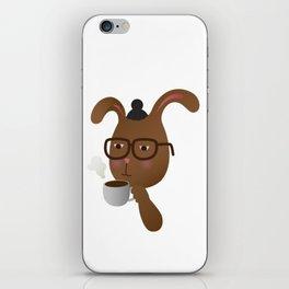 Man Bunny iPhone Skin