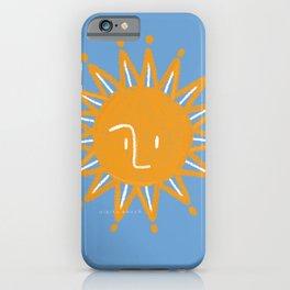 Aesthetic African Sunshine: Nikita Abuya iPhone Case