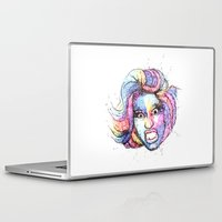 nicki Laptop & iPad Skins featuring Nicki by TREE