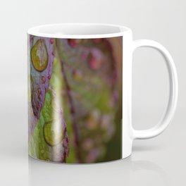 DROPS ON LEAVES Coffee Mug