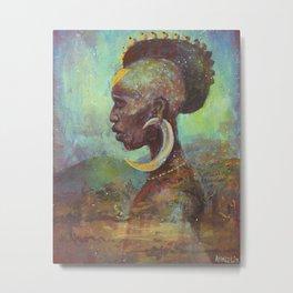 Africa Son Metal Print