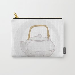 First cup of tea after a caffeine cleanse. By Priscilla Li Carry-All Pouch