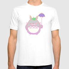 TotoroFan art  Mens Fitted Tee White MEDIUM