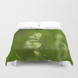 Green Plant Duvet Cover
