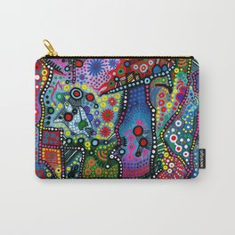 """""""Blue Candy Gloom"""" Carry-All Pouch"""