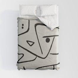 Modern poster Paul Klee - Zweierlei Augenmass, 1938. Comforters